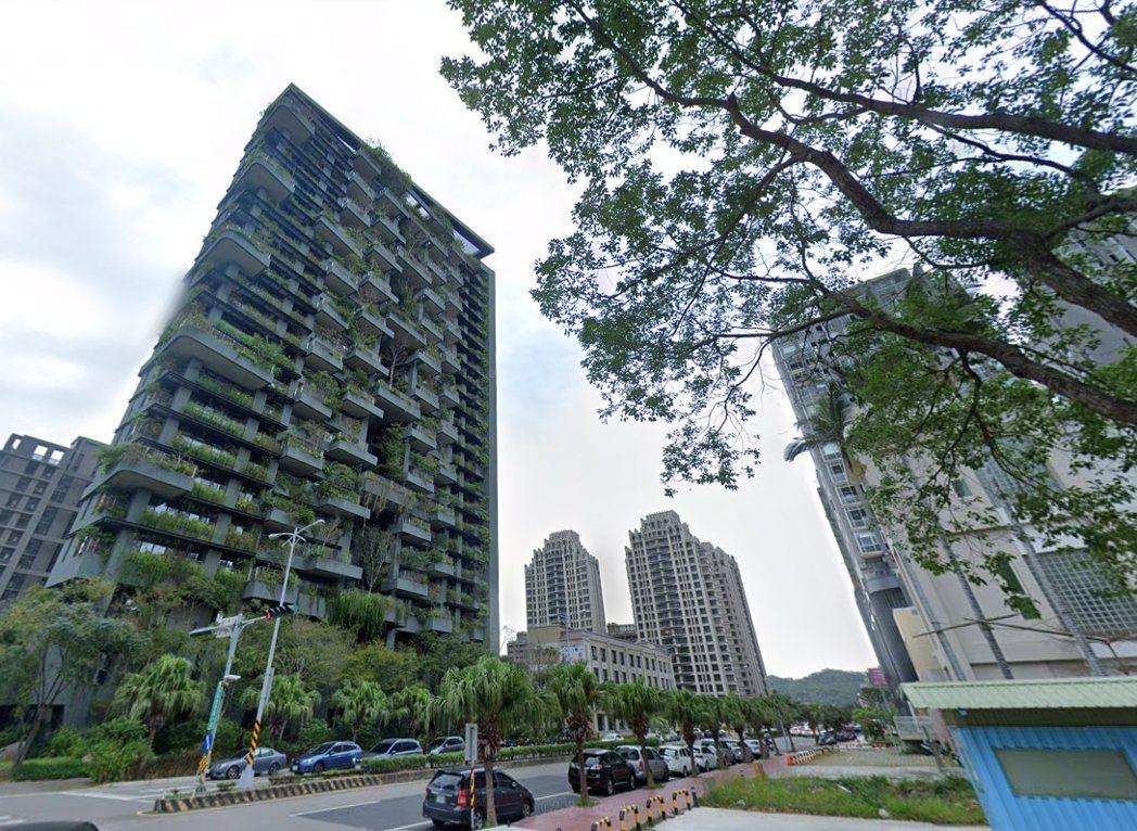 新竹竹北「若合山」社區由半畝塘建設投資興建,為該公司「若山」系列第二期。圖/取自...