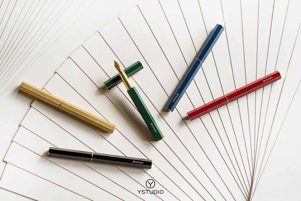 物外YSTUDIO經典鋼筆,由實心黃銅切削而成、六角筆身為品牌最受歡迎的設計。 ...