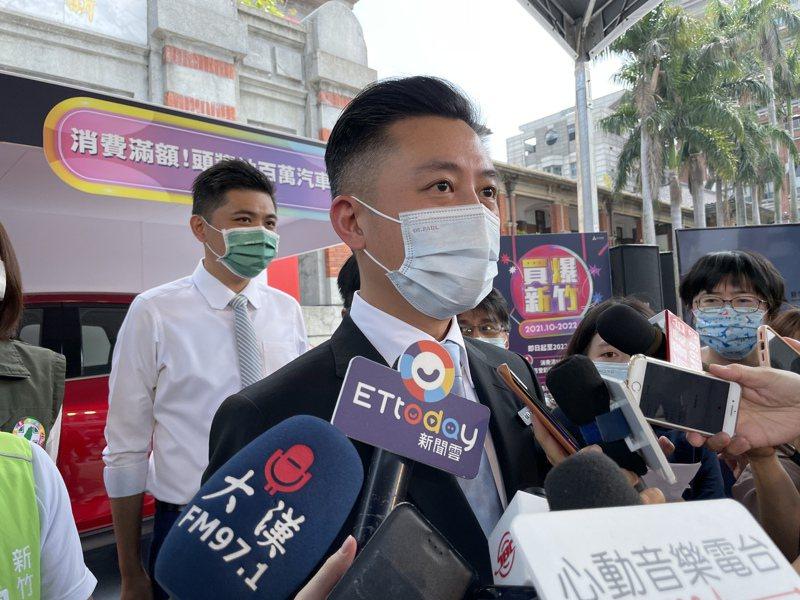 新竹市長林智堅拋出「大新竹市」的議題,民進黨內現在冒出三派聲音,有民進黨人士認為,黨內各派系都在等待蔡英文總統表態。記者張裕珍/攝影