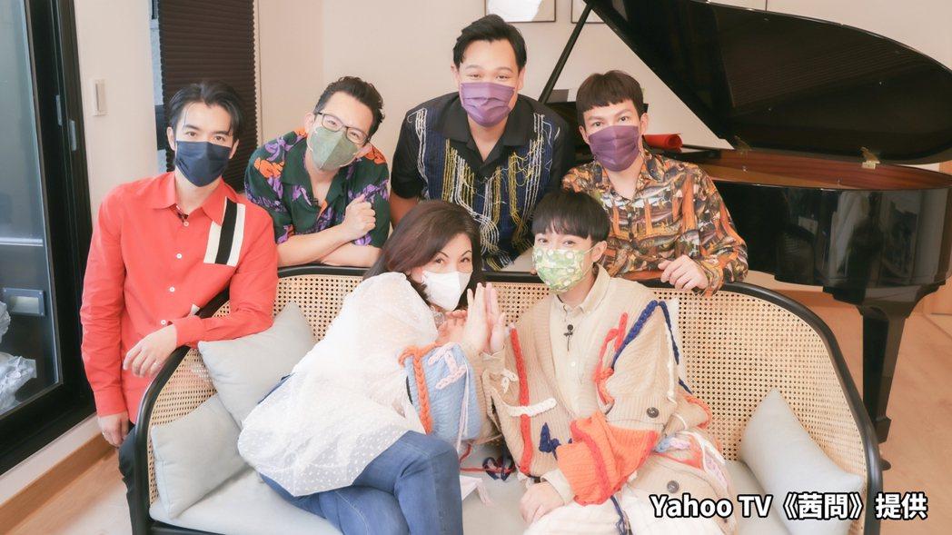 魚丁糸日前上Yahoo TV「茜問」。圖/Yahoo TV提供