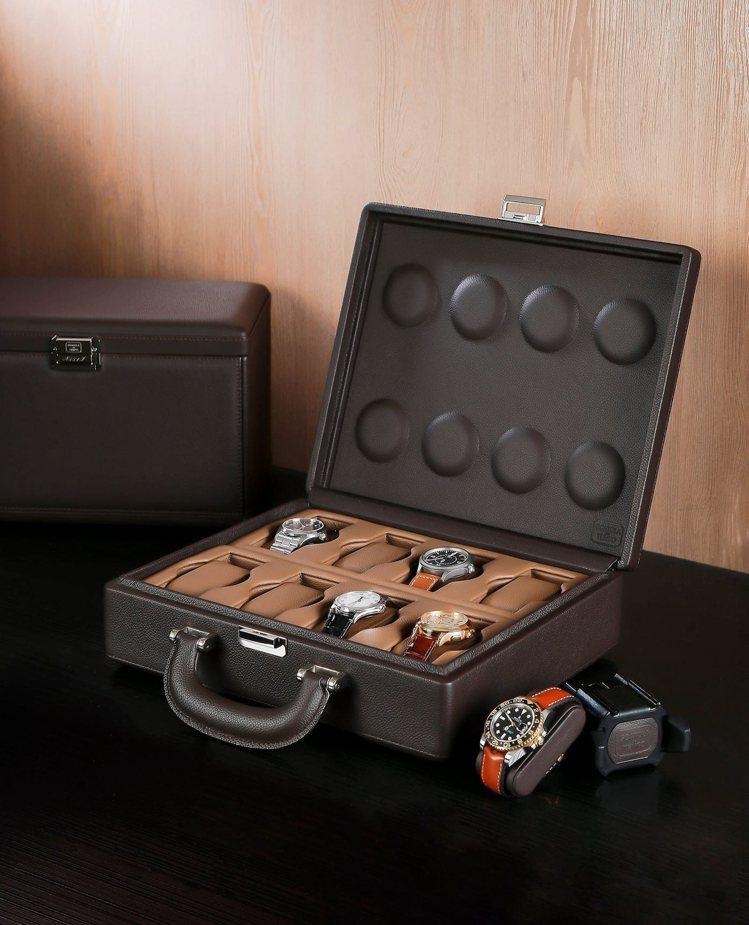 來自義大利的專業收納表盒Scatola de Tempo,是敦文鐘表專賣店的代理...