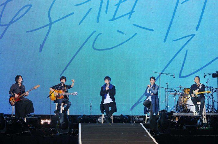 網瘋傳五月天將於高雄世運主場館舉辦跨年演唱會。圖/相信音樂提供