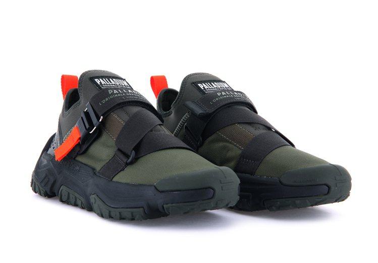 PALLADIUM OFF-GRID LO UTILITY鞋3,080元。圖/...