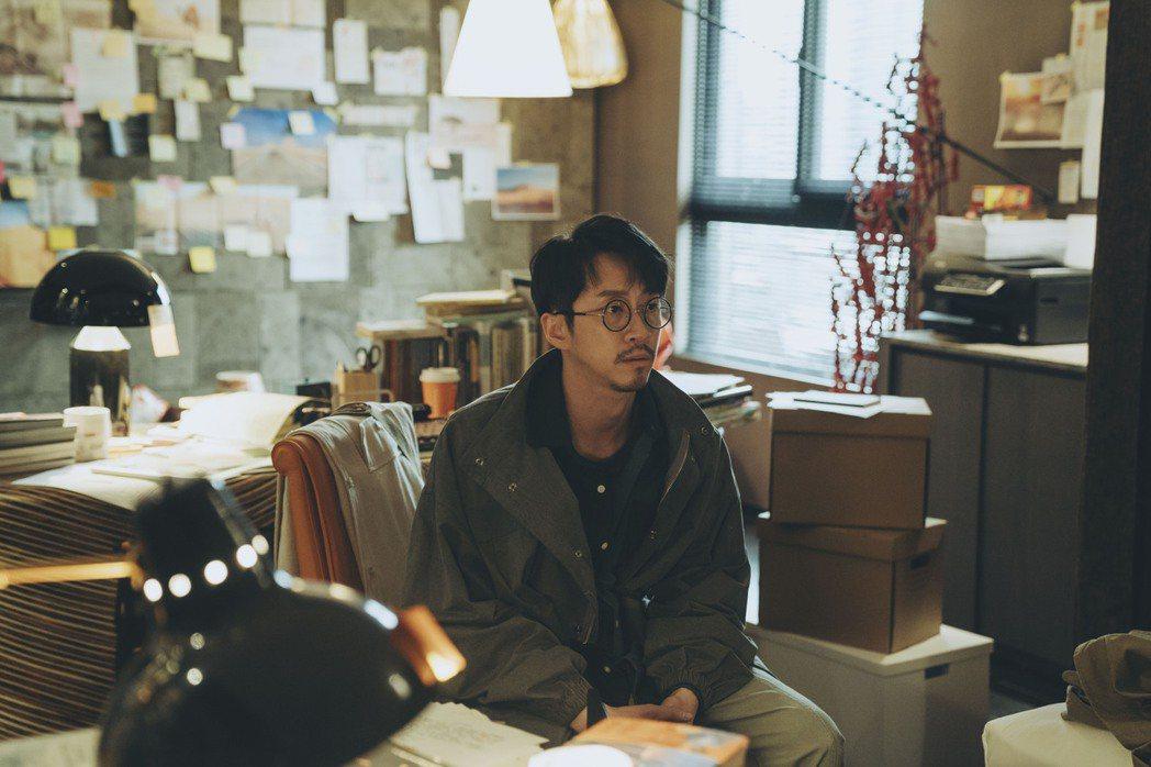 陳漢典在「2049」中演過氣作家。圖/myVideo提供