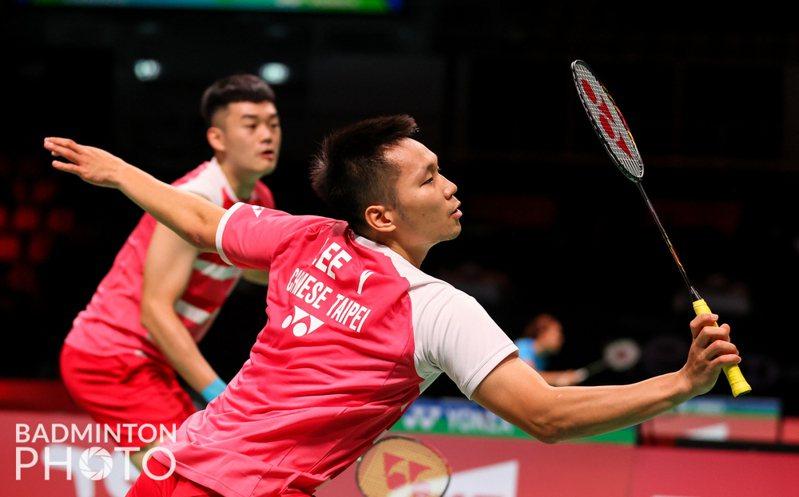 「麟洋配」為中華隊搶下第一點。圖/Badminton Photo提供