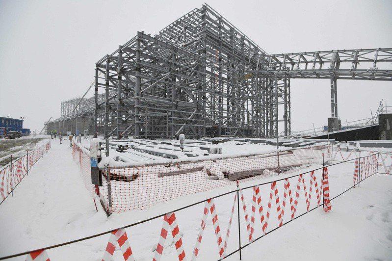 烏多坎銅礦公司的礦井位於地震區和永凍土區,冬季氣溫可能下降至攝氏零下60度。法新社