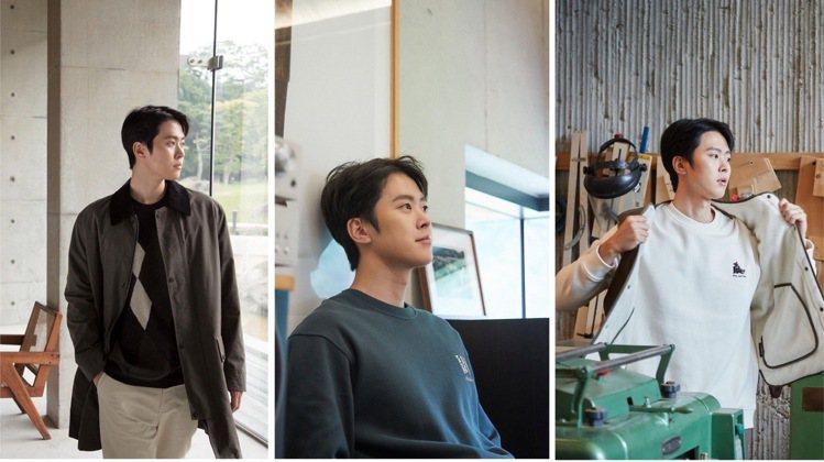 孔明和鄭浩妍分別拿下韓國戶外品牌的男、女裝代言。圖/取自IG