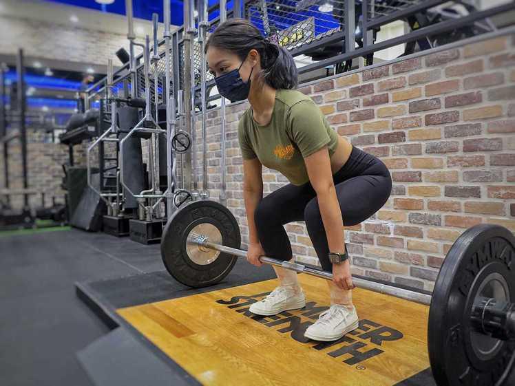重新健身前,要注意強度。圖/健身工廠提供