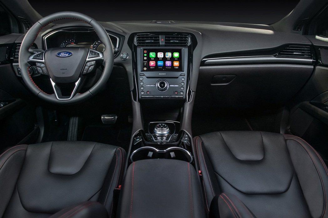 Mondeo ST-Line Wagon內裝。 圖/福特六和提供