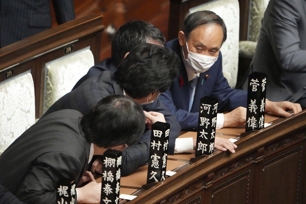 前日本首相菅義偉。 圖/美聯社
