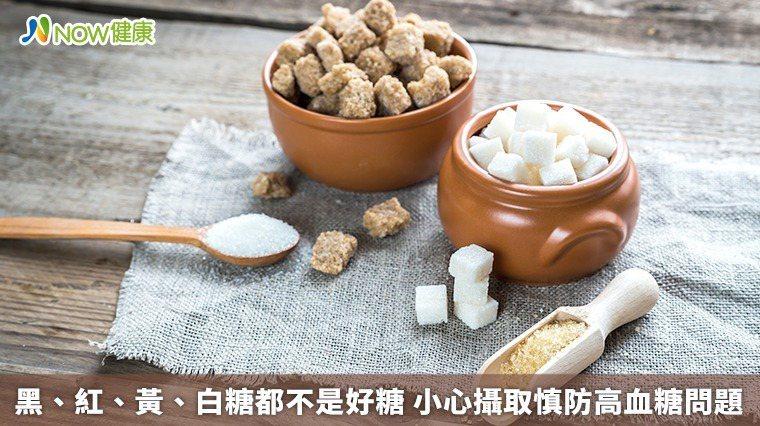 ▲市面上可看見的黑糖、紅糖、黃糖或白糖皆是由蔗糖精煉出的精製糖,不管哪一種,都需...