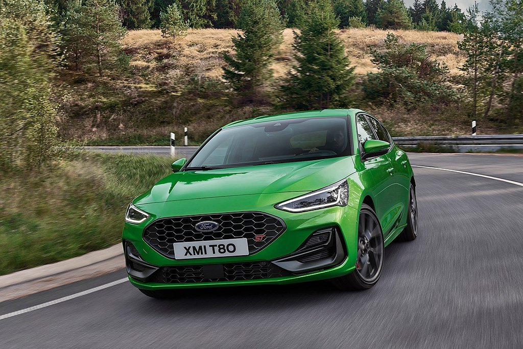 小改款Ford Focus ST動力搭載2.3L EcoBoost渦輪增壓引擎,...