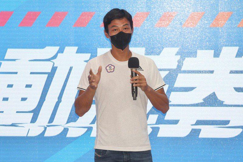 台灣網球一哥盧彥勳擔任動滋券2.0代言人。中央社