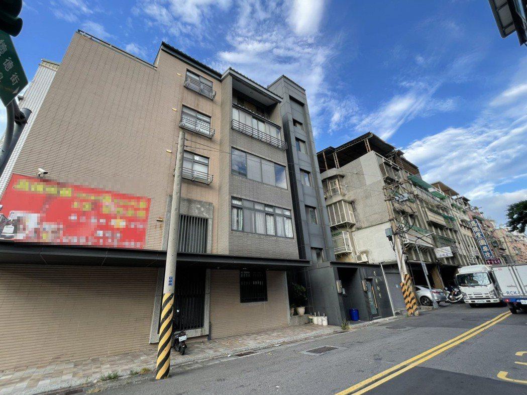 北投一處30年公寓加裝電梯,漲幅逾三成。圖/台灣房屋提供