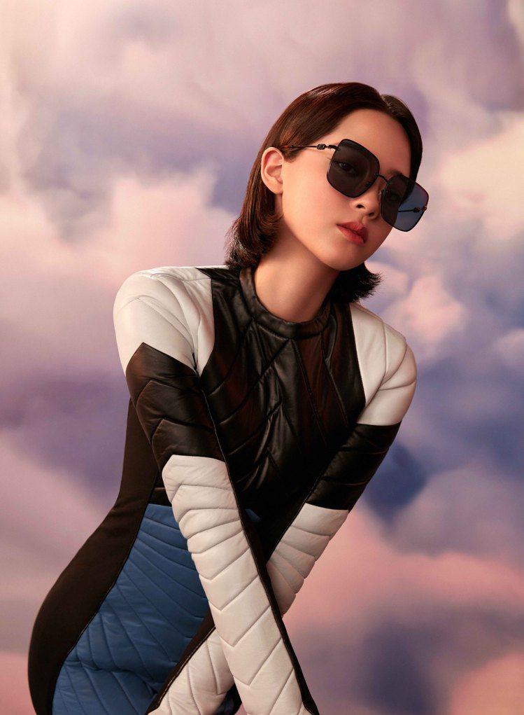 歐陽娜娜成為Salvatore Ferragamo眼鏡系列全球品牌代言人。圖/S...