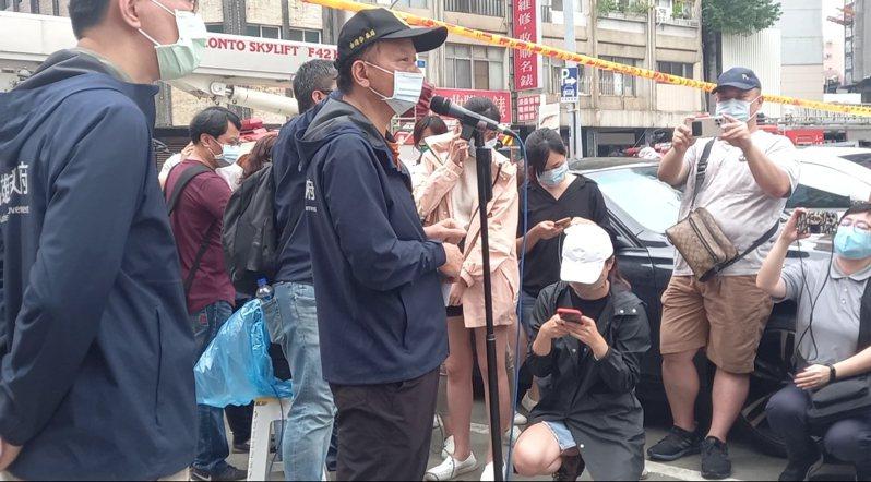 高雄市消防局長李清秀。記者邱奕能/攝影