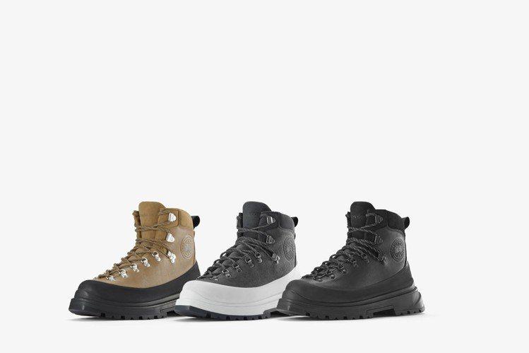Canada Goose男款Journey Boot旅行靴25,100元。圖/C...