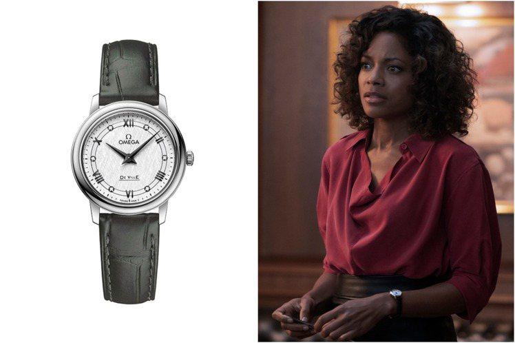 Naomie Harris在電影中戴上的精鋼碟飛Prestige腕表,輕巧的27...