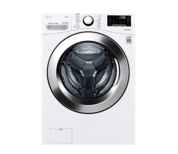 LG樂金18公斤蒸氣洗脫滾筒洗衣機,遠傳friDay購物活動優惠價34,900元...