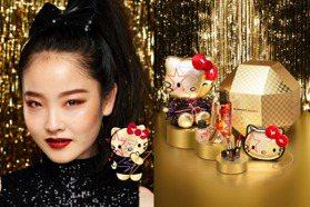 最強聯名來了!Kitty最新聯名日系彩妝 搖滾風格可愛又迷人超熱賣