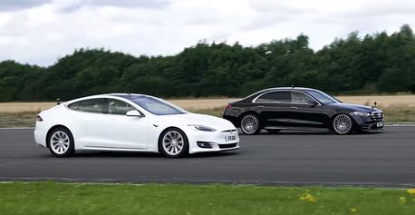 影/加速被Tesla秒殺 但賓士S-Class還是贏了這一項...