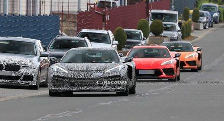Chevrolet Corvette E-Ray油電跑車已在紐柏林測試了?