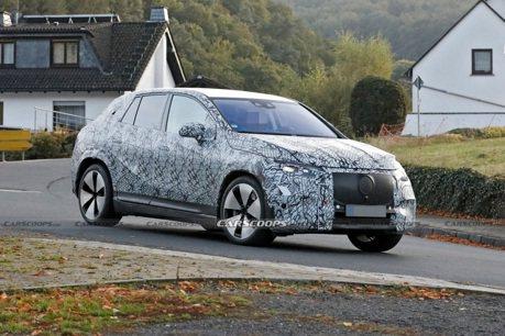 Mercedes-Benz EQE SUV重度偽裝現身 但外貌辨識度仍超高