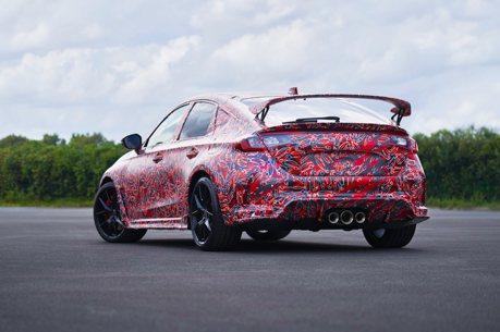 全新Honda Civic Type-R消息才曝光 馬上抓到測試車!