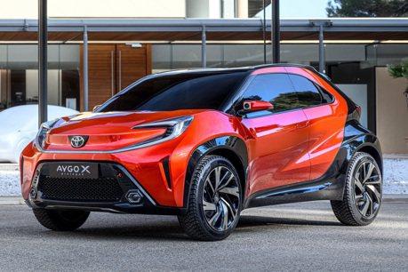 Toyota將推出Aygo X迷你跨界車 迎戰歐系對手!