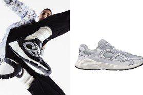鞋側、鞋底都有「CD」logo 新款DIOR B30運動鞋好帥氣