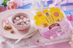 桂冠「森永牛奶糖小湯圓」升級雙色版!7-11粉嫩獨賣