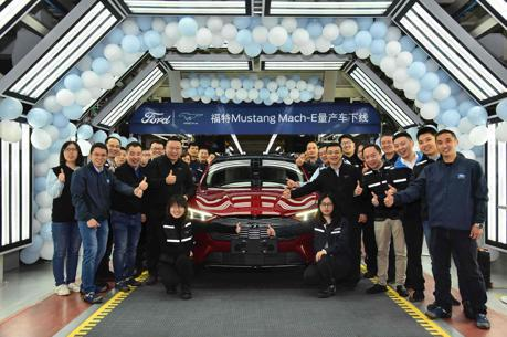 Ford Mustang Mach-E中國產線正式啟動 預計年底開始交車