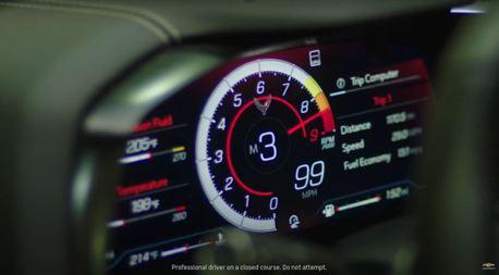 影/8,600轉紅線!美系超跑性能旗艦Chevrolet Corvette Z06預告片釋出