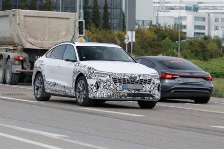小改款純電跑旅曝光 Audi e-tron Sportback將帶來更長的續航力