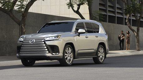 大改款Lexus LX 600旗艦越野休旅登場! 全新雙渦輪V6搭配新豪車4座設定