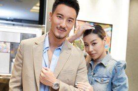 搶先全球最嘻哈!蔡詩芸王陽明合體秀HUBLOT藍寶石腕表