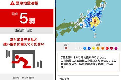 東日本大震災到今年三月才剛滿十周年,想不到最近東京就來了一場十年來最大的地震,搖...