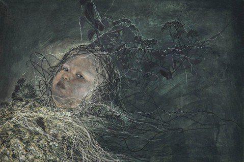 黃鈴詠作品〈植物人系列15-白露〉。 圖/高雄市立美術館提供
