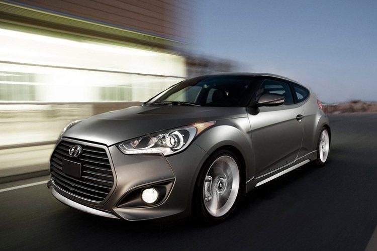 Hyundai Veloster 豪華款