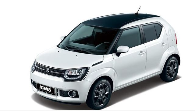 Suzuki Ignis 2 Tone
