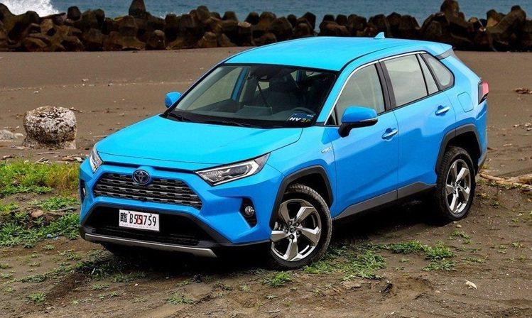 Toyota RAV4 2.5 Hybrid旗艦 4WD