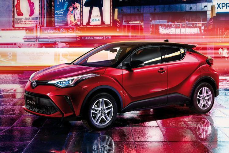 Toyota C-HR 豪華
