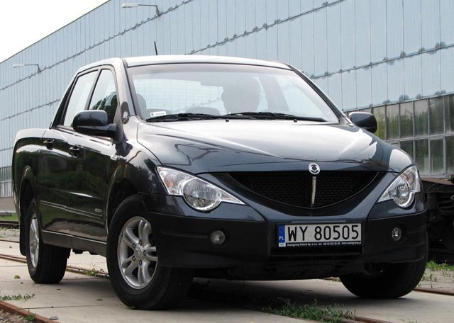 Ssangyong Actyon Sport A200S 4WD