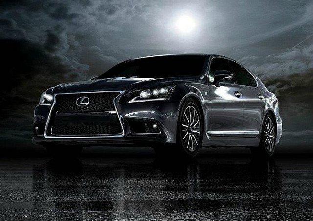 Lexus LS 600h F Sport