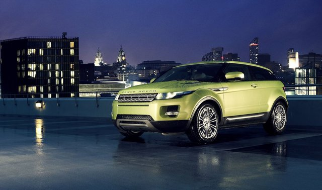 Land Rover Evoque 3D