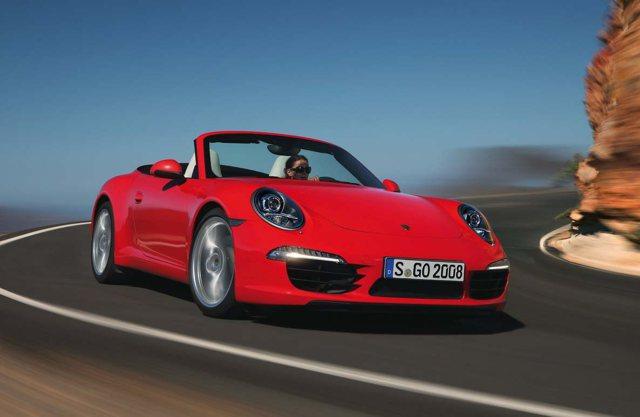Porsche 911 Turbo S Cabbrio