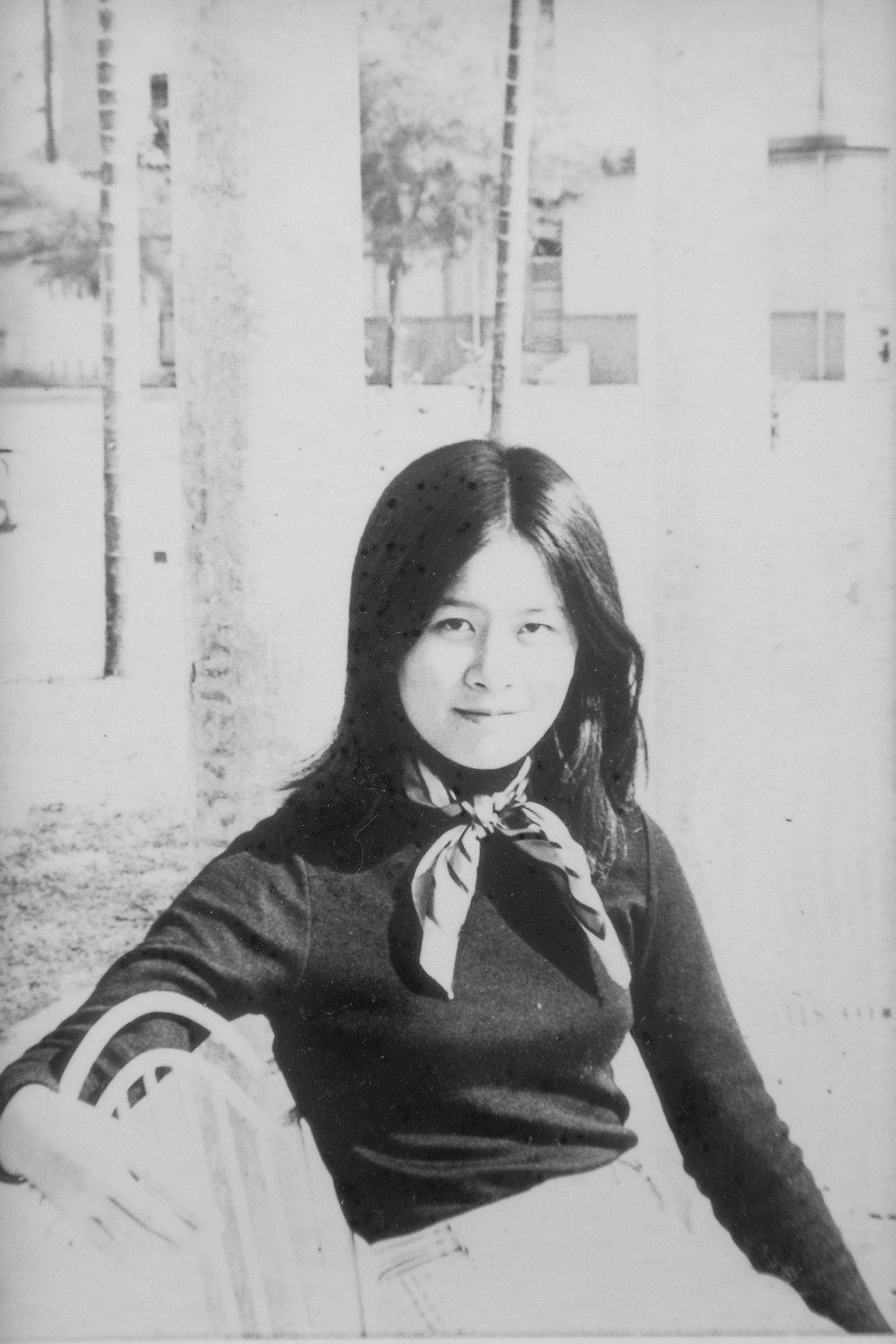 陳怡蓁在台大時是文藝少女。圖/陳怡蓁提供、陳立凱翻攝