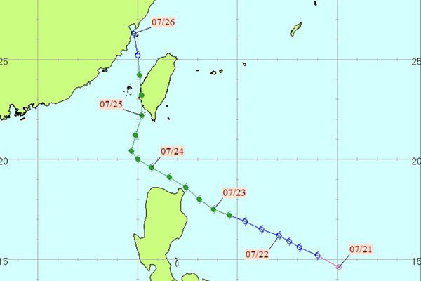 賽洛瑪颱風。圖/中央氣象局