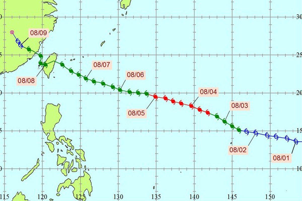 蘇迪勒颱風。圖/全球災害事件簿