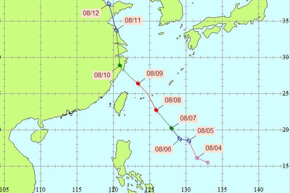 利奇馬颱風。圖/全球災害事件簿